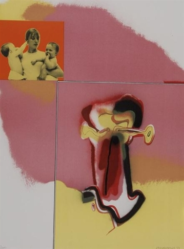 Allen JONES - Grabado - Untitled