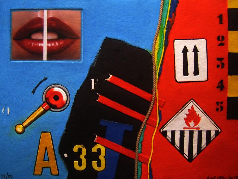 "Peter KLASEN - Print-Multiple - AQUAGRAVURE "" A 33 """
