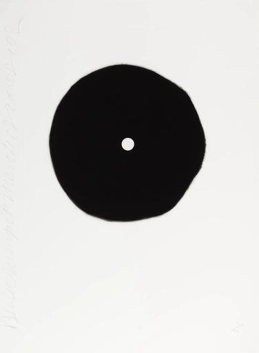 Donald SULTAN - Druckgrafik-Multiple - Black Trumpet