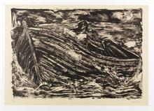 Miquel BARCELO - Print-Multiple - Autoportrait -La barca