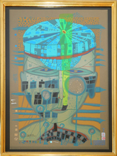 Friedensreich HUNDERTWASSER - Estampe-Multiple - One of five seamen