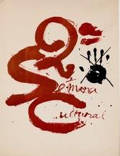 Antoni TAPIES - Print-Multiple - Antoni Tàpies - Litografía 2a Setmana Cultural d Matarò 1973