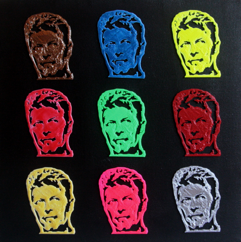 PYB - Painting - bowie colors