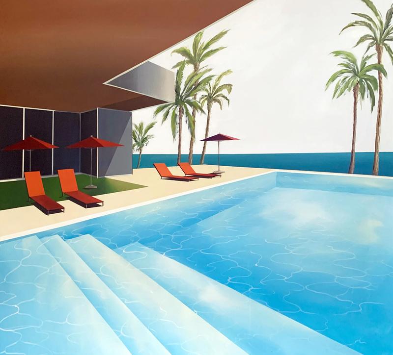 Daniel RAYNOTT - Painting - I often dreamed of going West