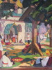 Kretline Michel PÉTROVITCH - Painting - Fête religieuse en Russie
