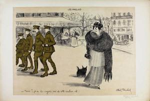 Louis ABEL-TRUCHET - 版画 - LES ANGLAIS