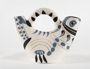 巴勃罗•毕加索 - 陶瓷  - Pichet espagnol