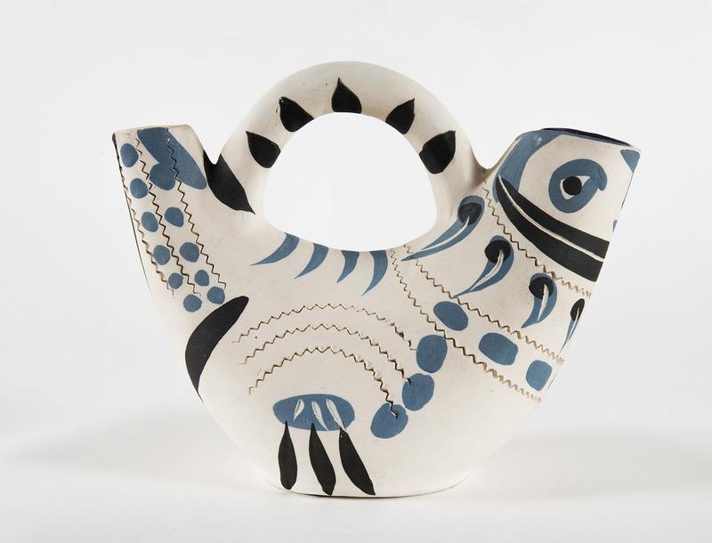 Pablo PICASSO - Ceramic - Pichet espagnol (A.R.245)
