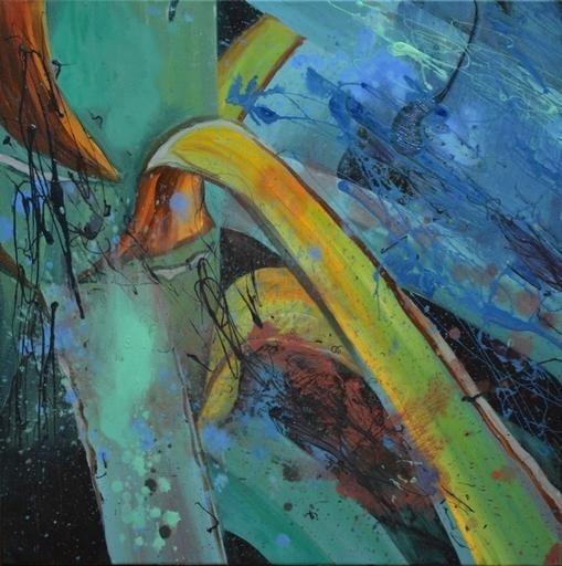 Peny MANAVI - Gemälde - Cactus 20