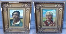 Julián IBAÑEZ DE ALDECOA Y ARANO - Painting - Retratos Vascos