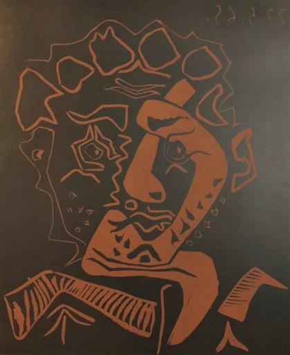巴勃罗•毕加索 - 版画 - Le Danseur