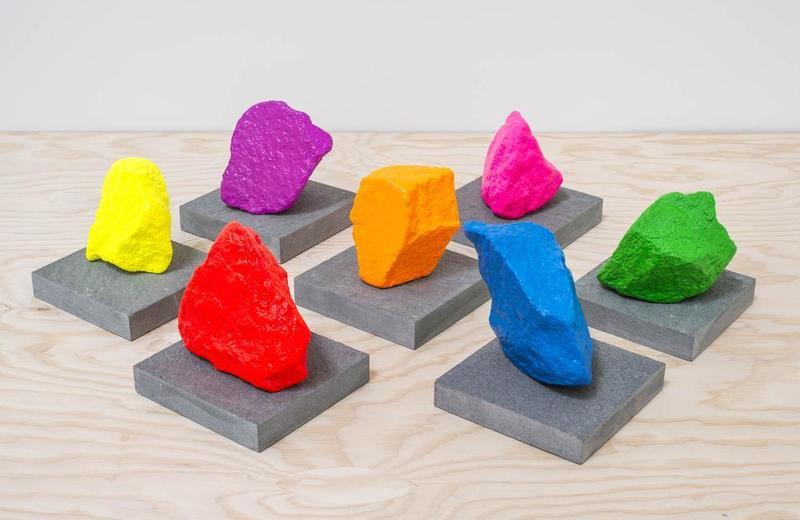 Ugo RONDINONE - Sculpture-Volume - Seven Stones