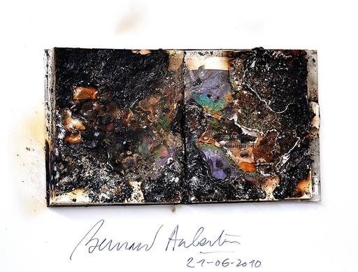 Bernard AUBERTIN - Sculpture-Volume - Livre Brulè