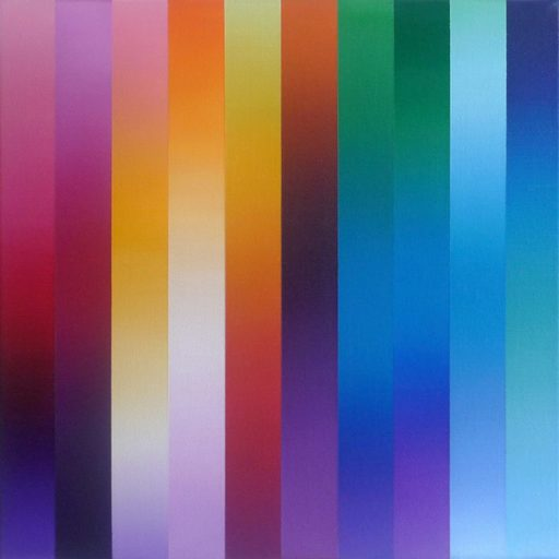 Catherine GUINOT - Painting - « Miroitements #03 »