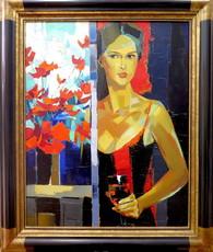 Jori DURAN - Painting - La fenetre entre ouverte