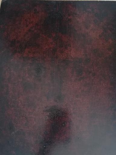 Antonio BUENO - Pittura - Volto impronta
