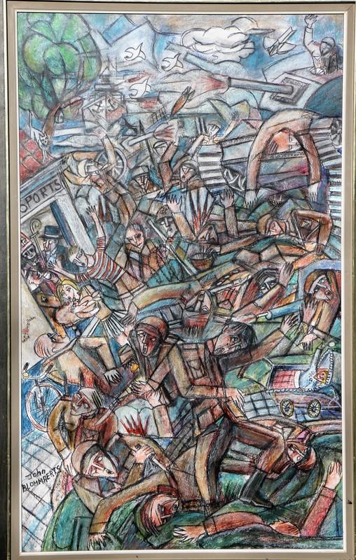 John BLOMMAERTS - Pintura - Oorlogstafereel