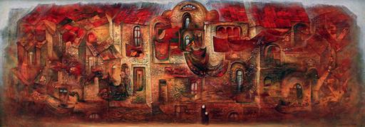 Amur KOCHISHVILI - Painting - Old town