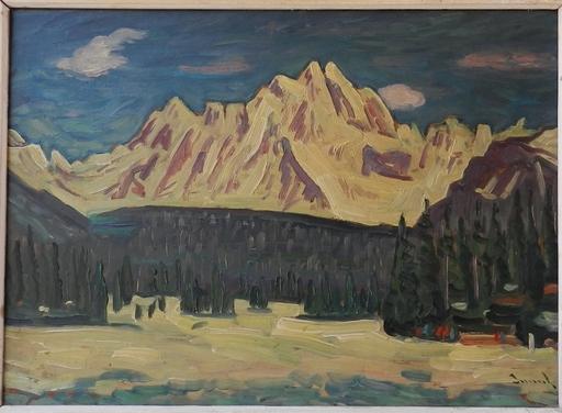 Anton JASUSCH - Painting - Pod Tatrami