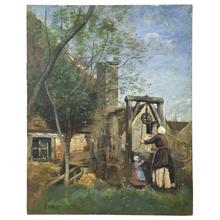 Camille Jean-Baptiste COROT - Peinture - le Puits
