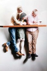 Andrew BENYEI - Escultura - Alone with my cappuchino and bood