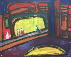 Christian DURIAUD - Pintura - New york city