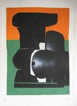 Ladislas KIJNO - Print-Multiple - LITHOGRAPHIE SIGNÉE AU CRAYON NUM/100 LITHOGRAPH