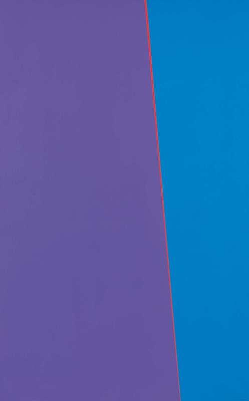 Mauro CAPPELLETTI - Peinture - Inclinazione fluorescente direzionale