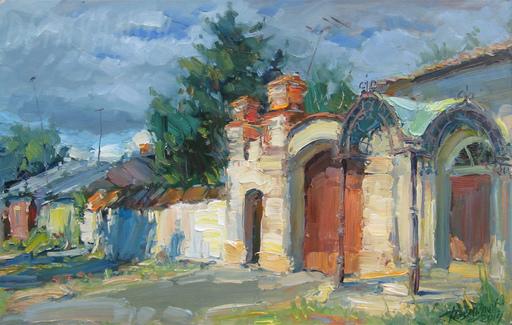 Yuriy DEMIYANOV - Gemälde - old gates