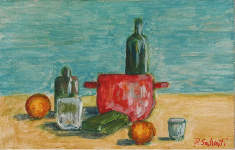 Paolo SALVATI - Pittura - la mia tavola