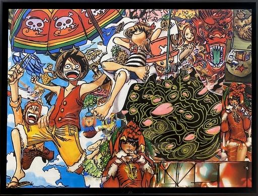 ERRÖ - Gemälde - Le  pirate
