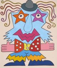 Jean SARIANO - Dessin-Aquarelle - The Clown