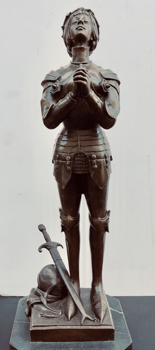 Antoine Louis BARYE - Sculpture-Volume - Jeanne D'arc