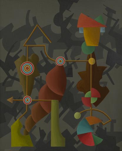Enrique Rodriguez GUZPENA - Pintura - Los círculos