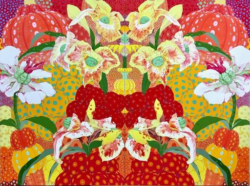 Mari ITO - Painting - Origen del deseo - Libertad I y Libertad II (Diptych)