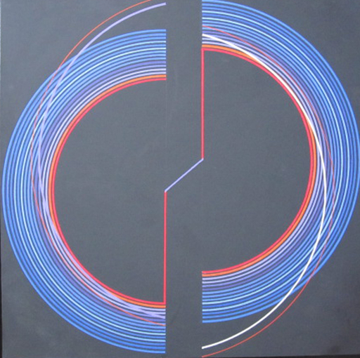 Romano ZANOTTI - Painting - FRATURA SPAZIALE