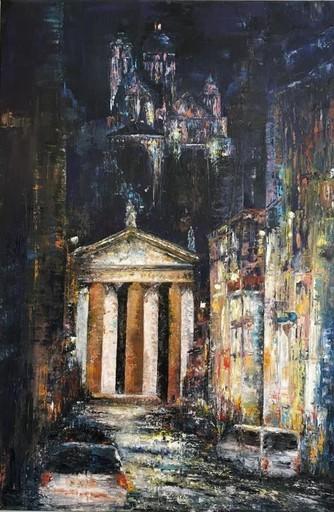 Danielle MAILLET-VILA - Painting - Notre Dame de Lorette