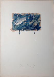Mario SCHIFANO - Gemälde - Squalo