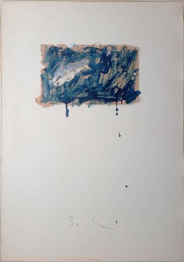 Mario SCHIFANO - Painting - Squalo