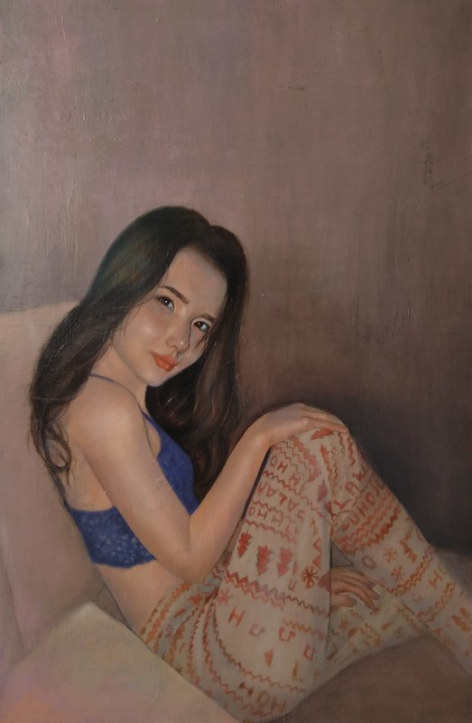 Ohanyan KAMSAR - Peinture - Anora
