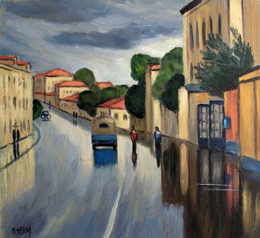 Valeriy NESTEROV - Gemälde - Malaya Ordinka street. Moscow