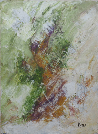 Kyna DE SCHOUEL - Peinture - Le fou du Roy
