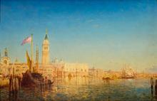 Félix ZIEM - Painting - Grand Canal, Venice