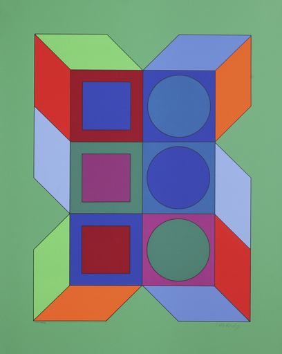 Victor VASARELY - Print-Multiple - Xico VY-29-B