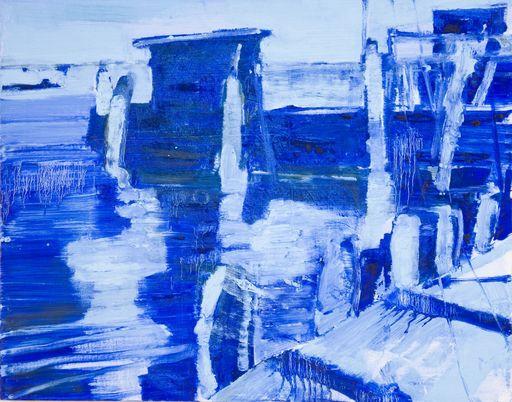 Giovanni FRANGI - Peinture - Chioggia