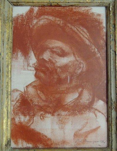 Pietro ANNIGONI - Drawing-Watercolor - ritratto