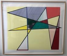 Roy LICHTENSTEIN - Estampe-Multiple - Imperfect