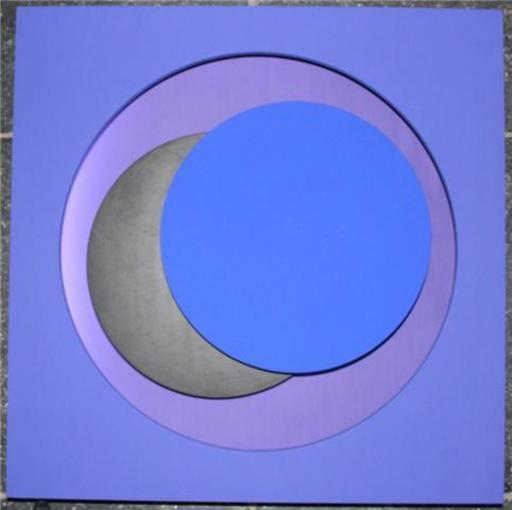 Geneviève CLAISSE - Sculpture-Volume - cercles Bleus