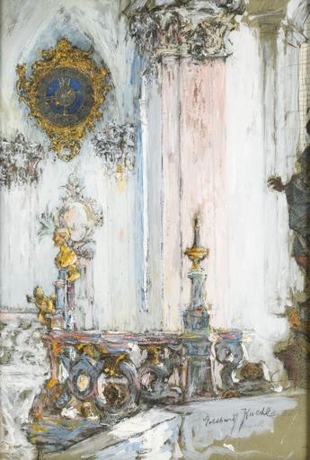 Gotthard Johann KUEHL - Drawing-Watercolor