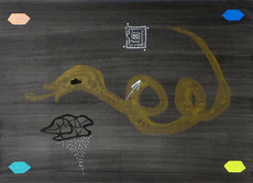 Ferrán GARCIA SEVILLA - Painting - Serie Negra nº 43